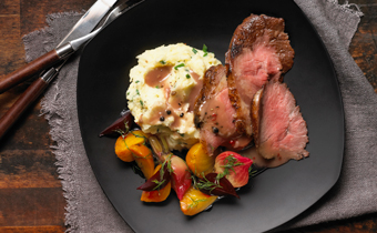 Roast Beef with Peppercorn Wine Sauce Oven Roast