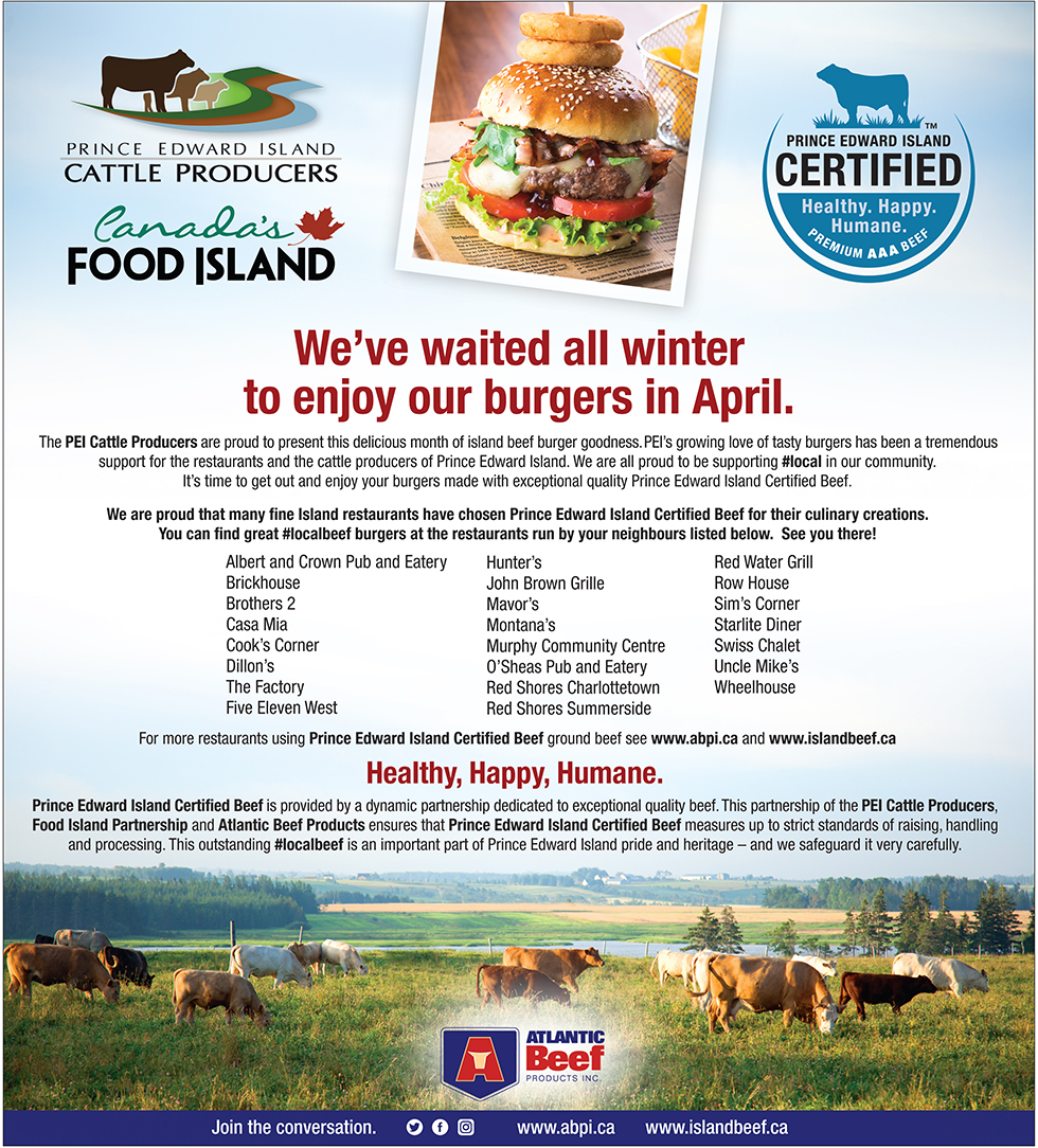 Enjoy our beef this April