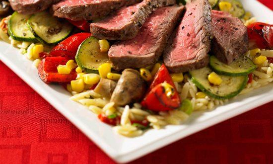 Broiled Steak Sheet-pan Dinner
