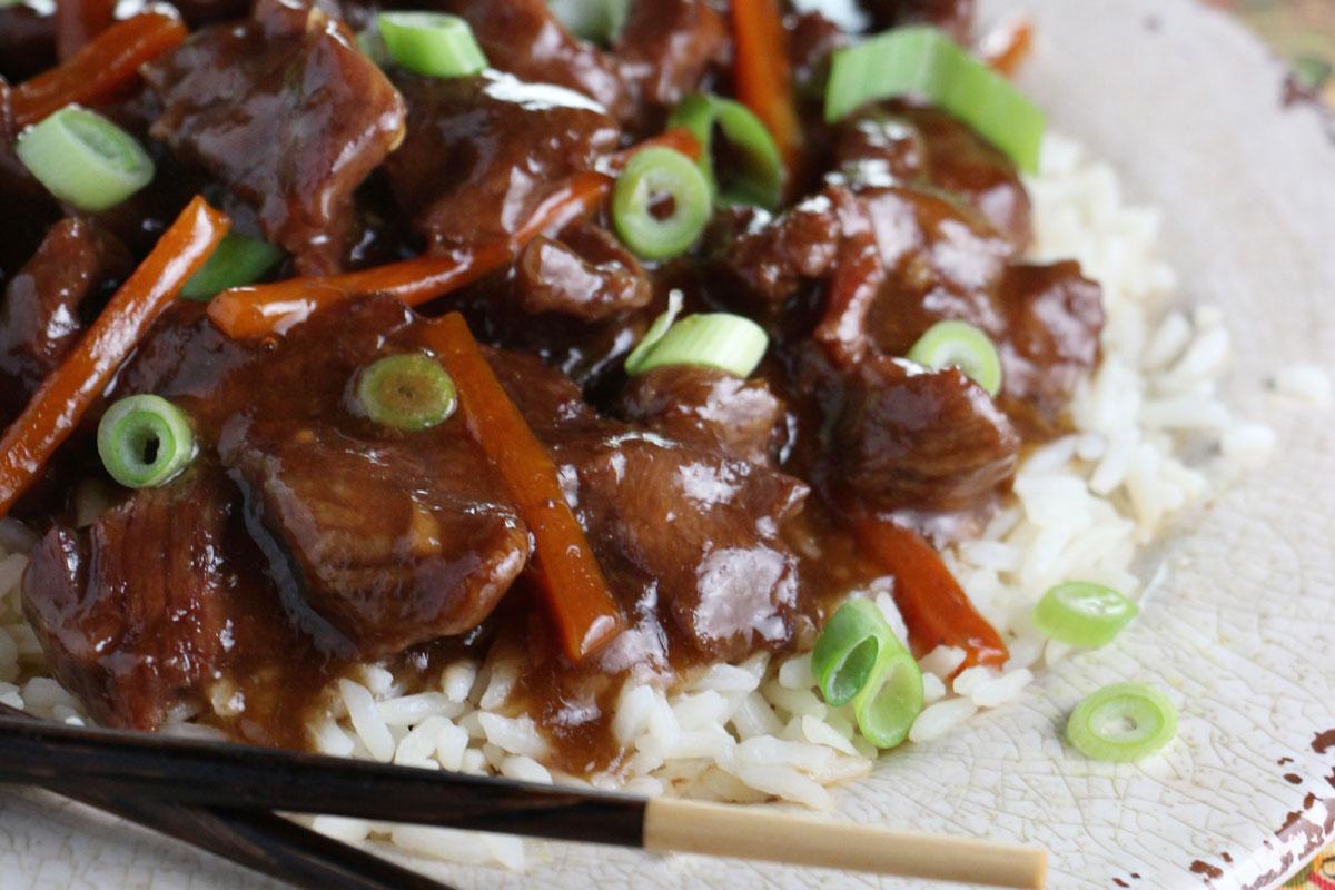 Slow Cooker Mangolian Beef
